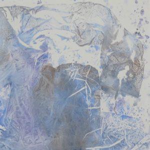 Ombre bleue - 30x30 - 2021
