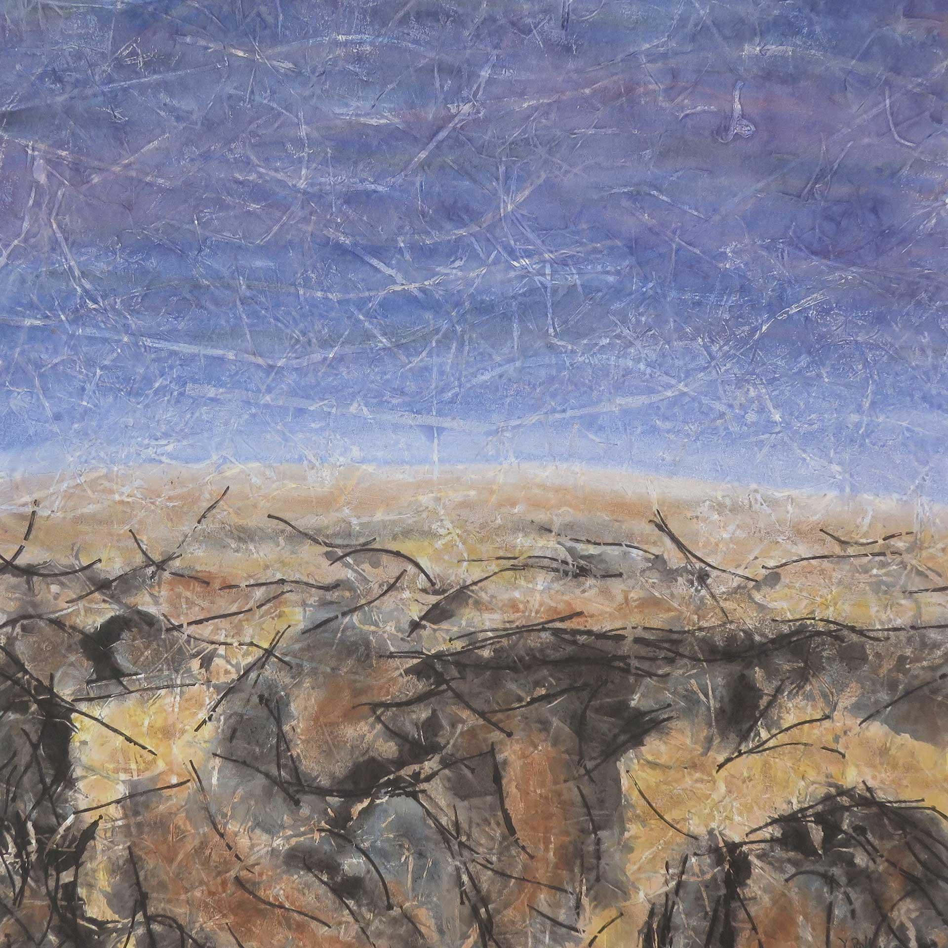 Terre austère - 50x50 - 2020
